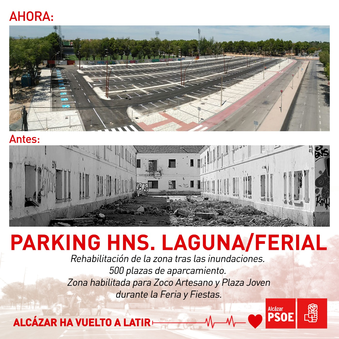 Parking Hermanos Laguna - Ferial