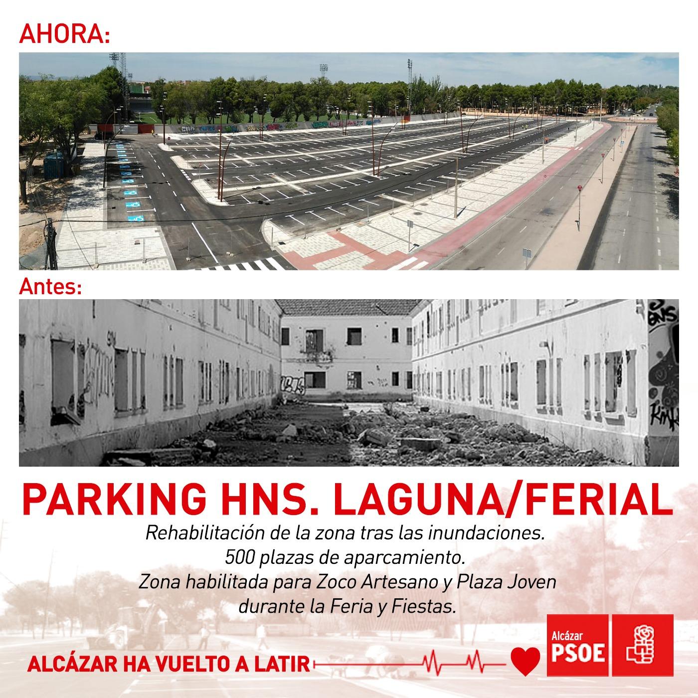 Parking Hermanos Laguna - Ferial