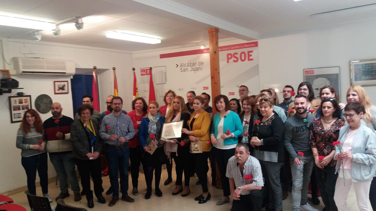 El PSOE de Alcázar reconoce el trabajo por la igualdad en el colectivo gitano