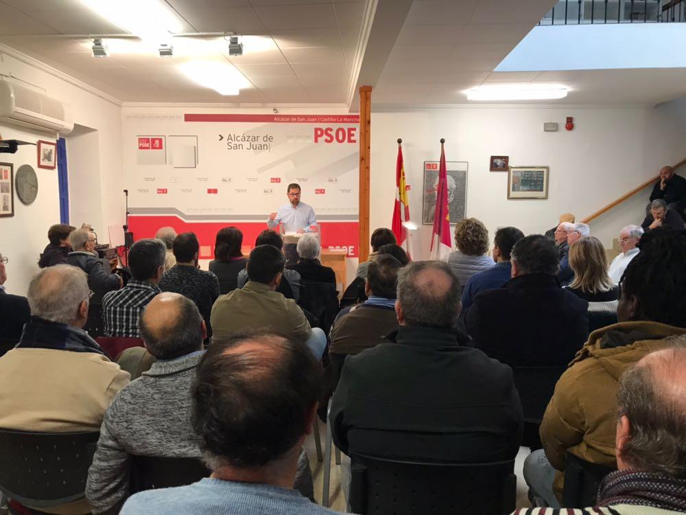 Gonzalo Redondo elegido nuevo Secretario General de la Agrupación Socialista Alcázareña